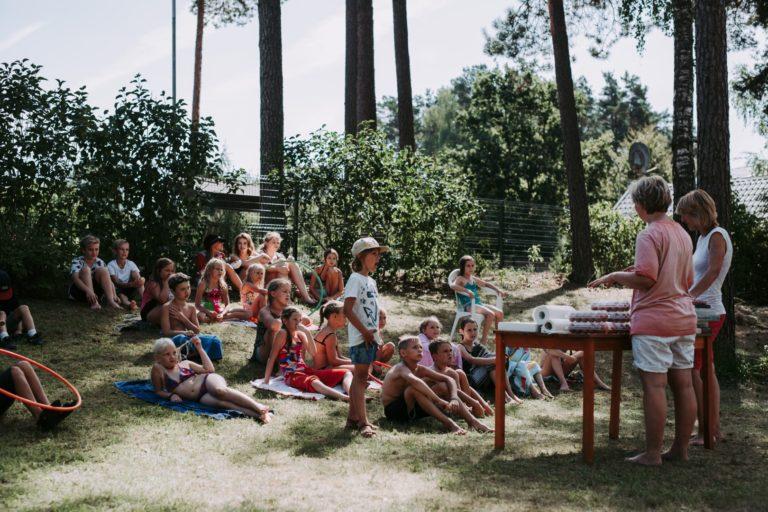 Vasaras nometne bērniem: 2018. gada vasara